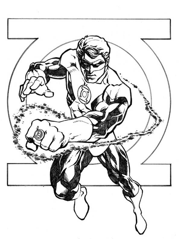 green lantern printable coloring pages image result for green lantern comic book pages pages green printable lantern coloring