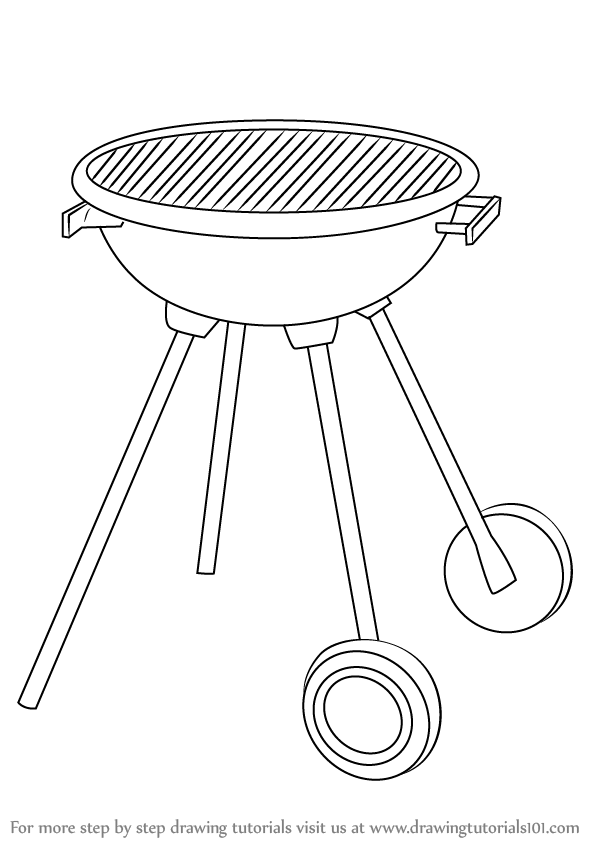 grill coloring page collapsable grill colouring pages sketch coloring page coloring page grill