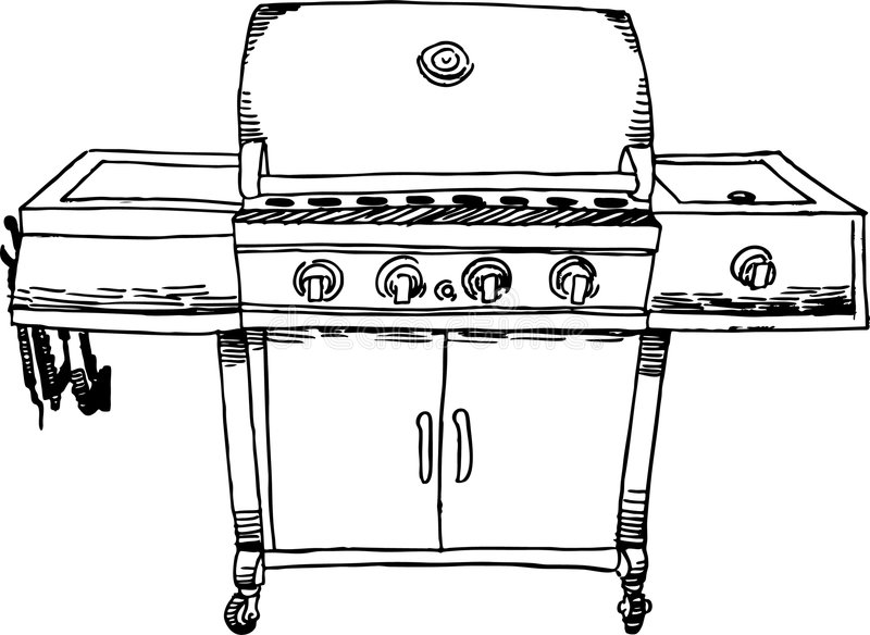grill coloring page grill coloring page at getcoloringscom free printable page coloring grill 1 1