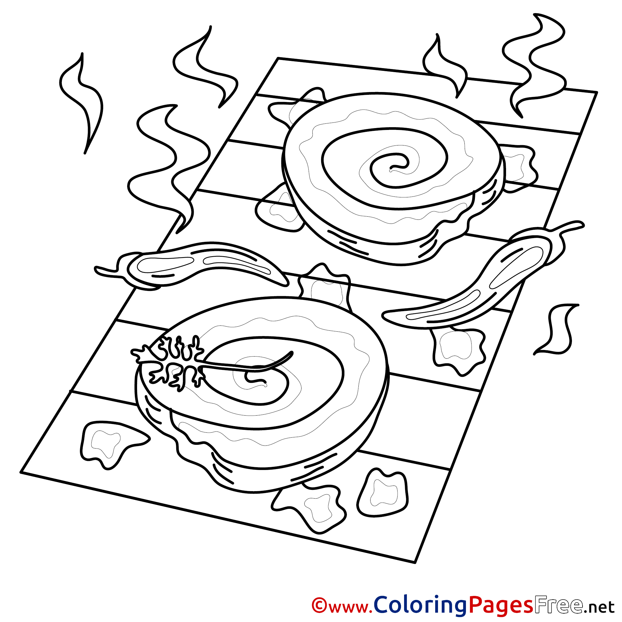 grill coloring page grill free colouring page download page grill coloring