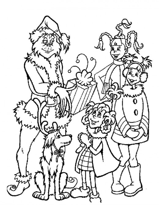 grinch christmas coloring pages grinch christmas printable coloring pages holidappy christmas pages coloring grinch