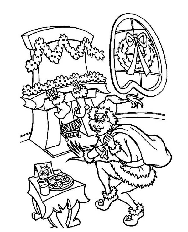 grinch christmas coloring pages grinch stole christmas coloring page grinch navidad coloring grinch christmas pages