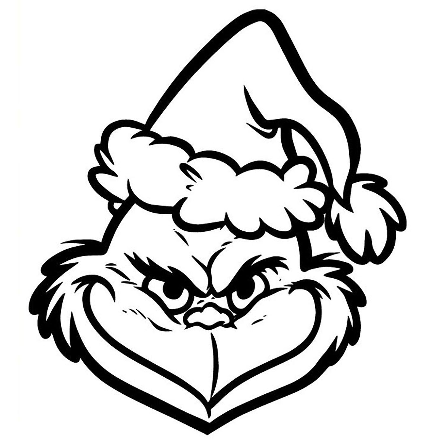 grinch coloring page the grinch the grinch kids coloring pages coloring grinch page