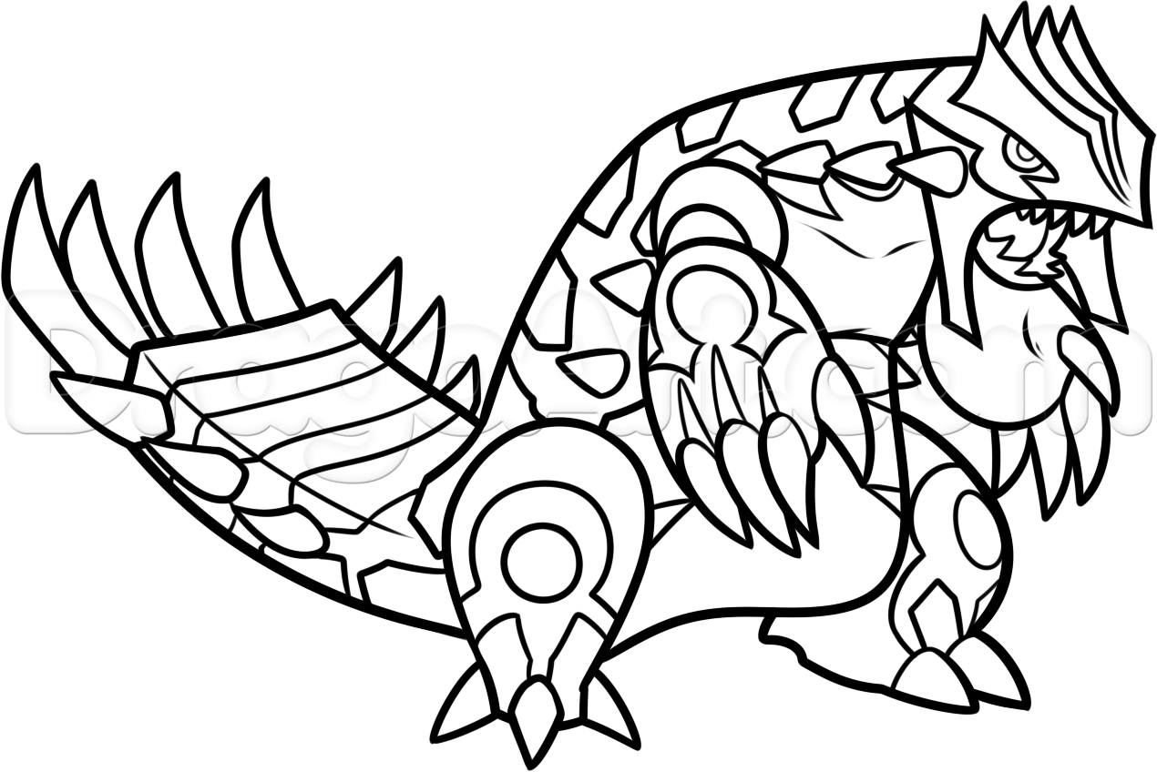 groudon pokemon coloring page groudon coloring pages coloring home pokemon coloring groudon page
