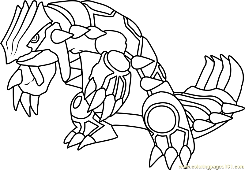 groudon pokemon coloring page groudon lineart by eizokun on deviantart groudon pokemon page coloring