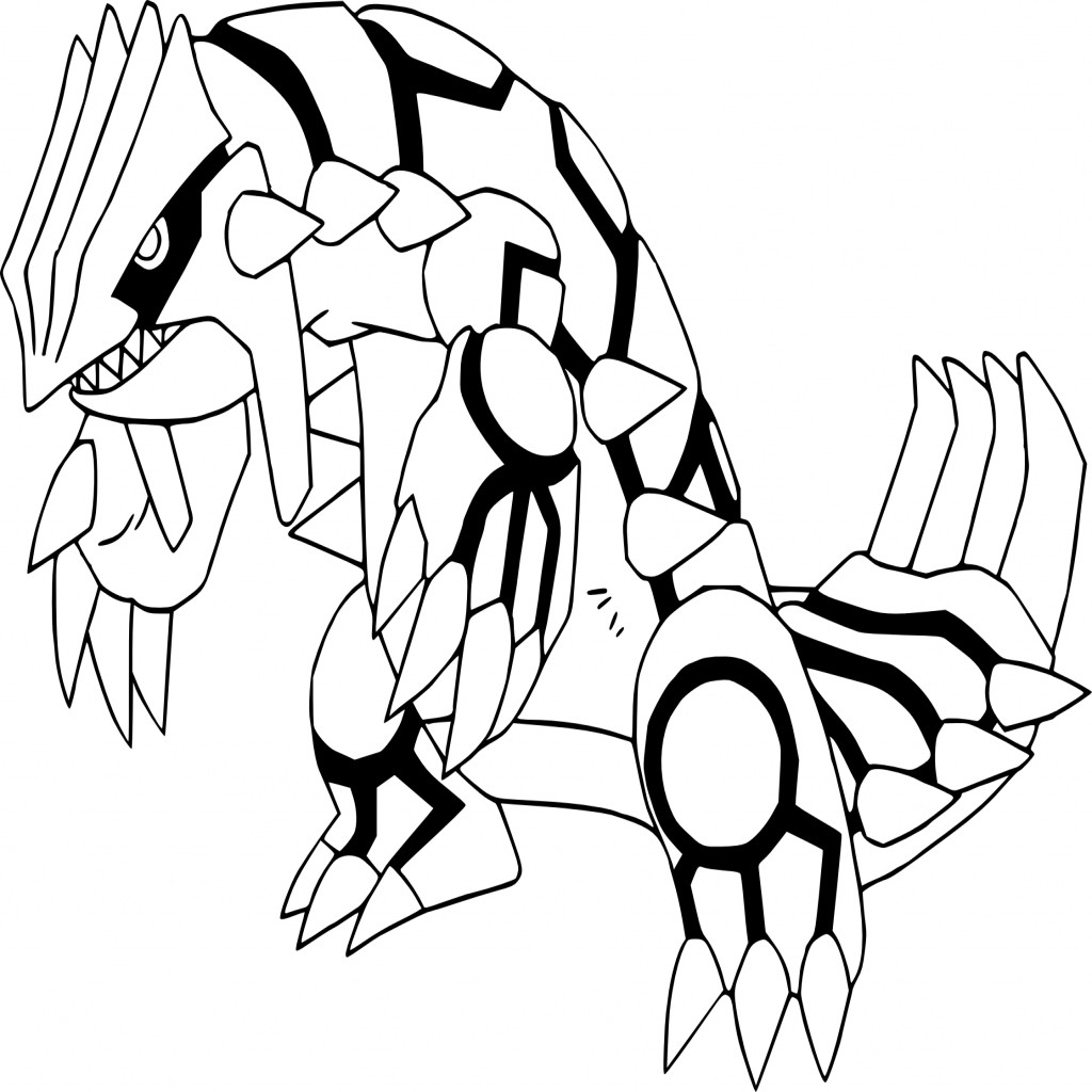 groudon pokemon coloring page how to draw groudon from pokemon mangajamcom pokemon groudon page coloring