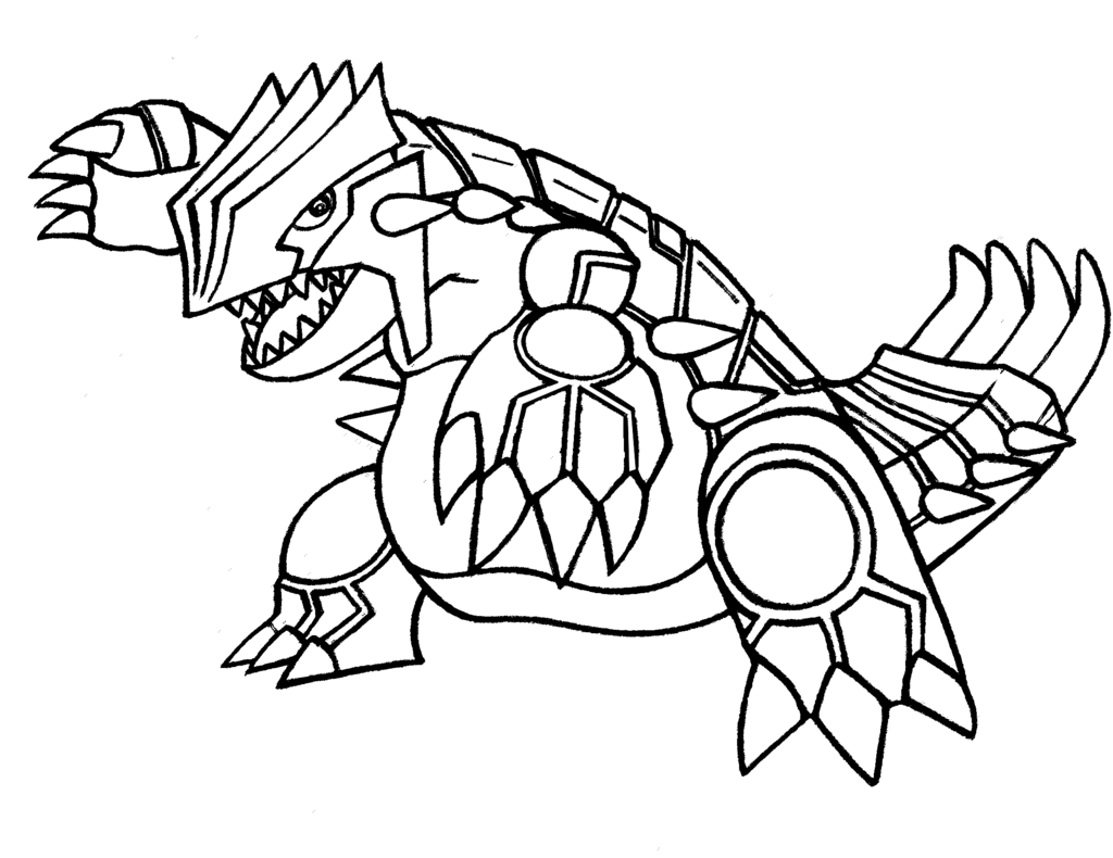 groudon pokemon coloring page primal groudon drawing free download on clipartmag coloring pokemon groudon page