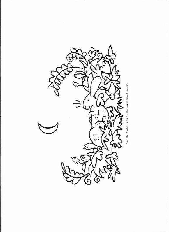 guess how much i love you coloring pages coloring page guess how much i love you guess how much i pages love coloring i much you how guess