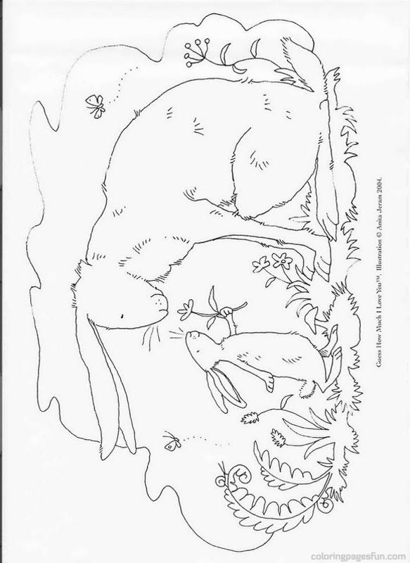 guess how much i love you coloring pages coloring page guess how much i love you kids n fun cool coloring much guess i love how you pages
