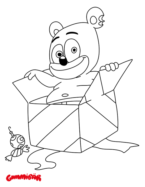 gummy bear coloring pages download a free printable gummibär december coloring page pages bear gummy coloring