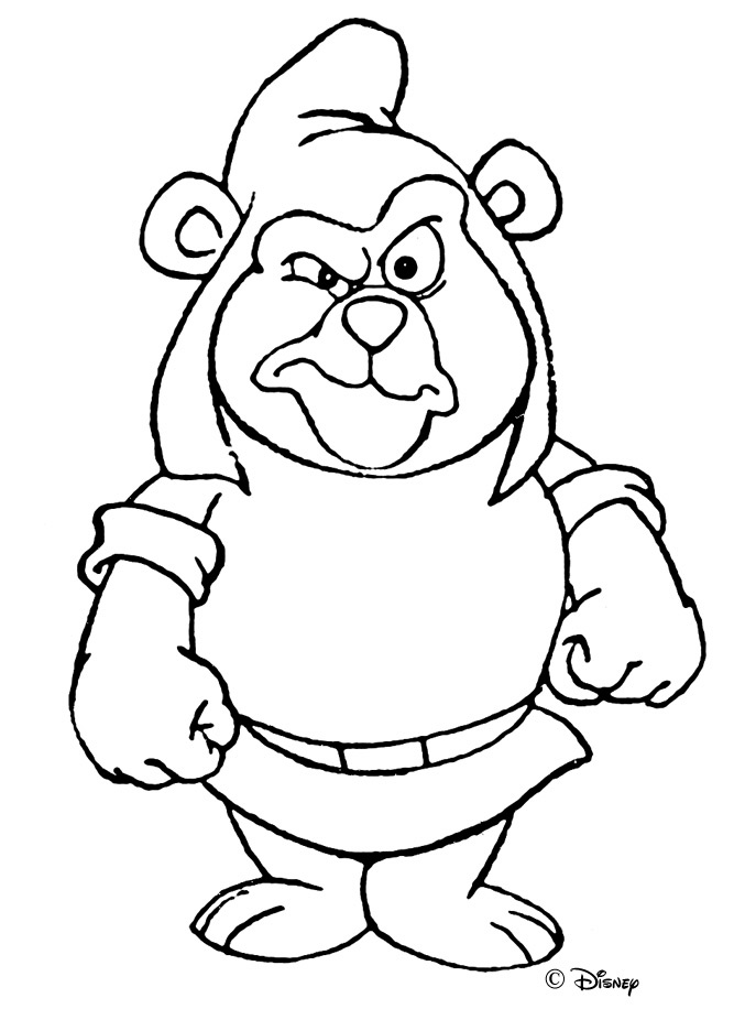 gummy bear coloring pages gummi bears coloring pages clipart best gummy coloring pages bear