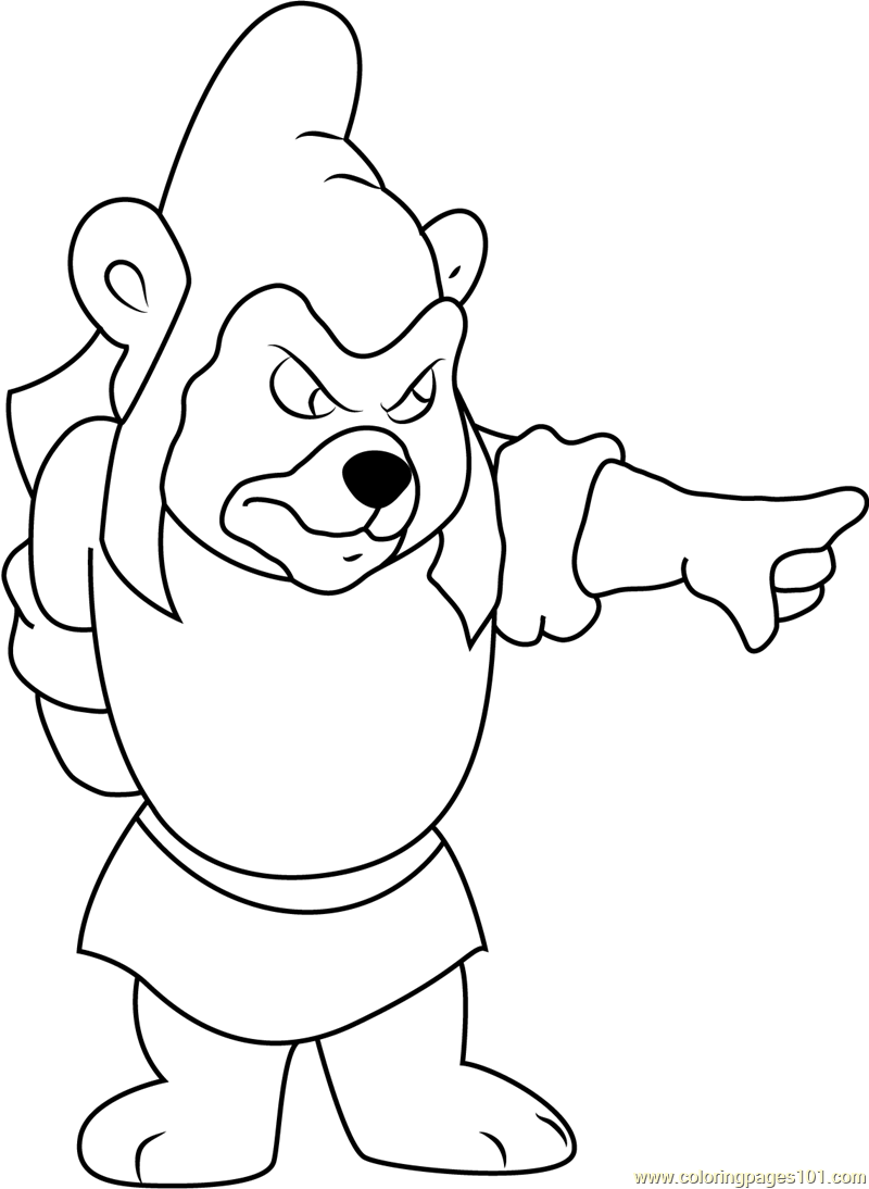 gummy bear coloring pages gummy bears coloring page free disney39s adventures of bear coloring pages gummy