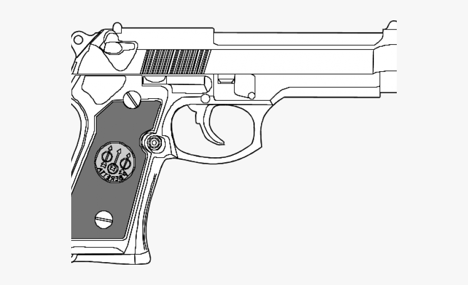 gun colouring pictures clipart of the day gun coloring pages transparent colouring pictures gun