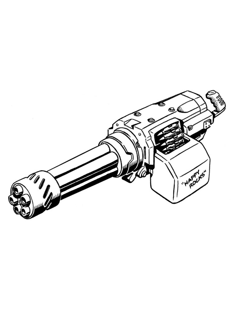 gun colouring pictures free machine gun coloring pages download and print gun colouring pictures