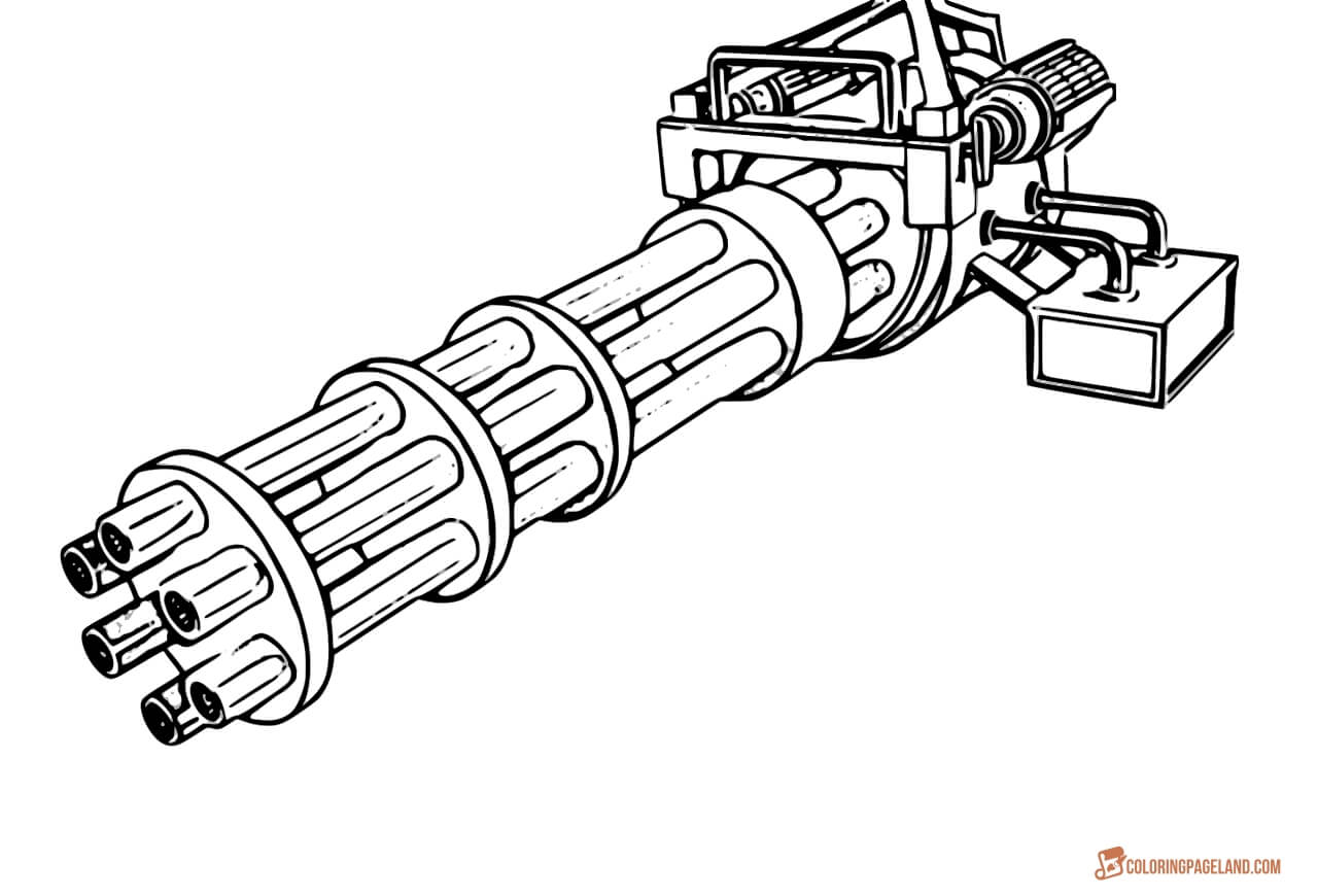 gun colouring pictures gun coloring pages download and print for free pictures colouring gun