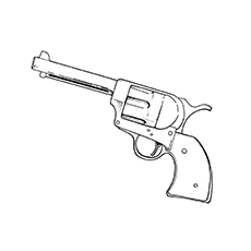 gun colouring pictures gun coloring pages for the little adventurer in your house gun pictures colouring
