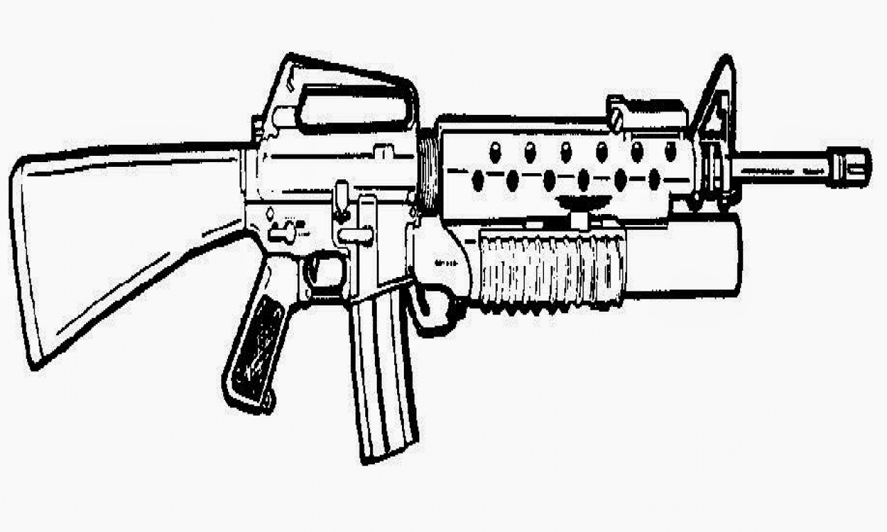 gun colouring pictures military gun coloring pages at getdrawings free download colouring pictures gun