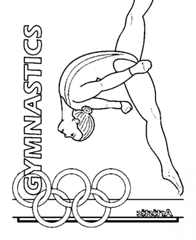 gymnastic colouring pictures get this printable gymnastics coloring pages p79hb colouring gymnastic pictures