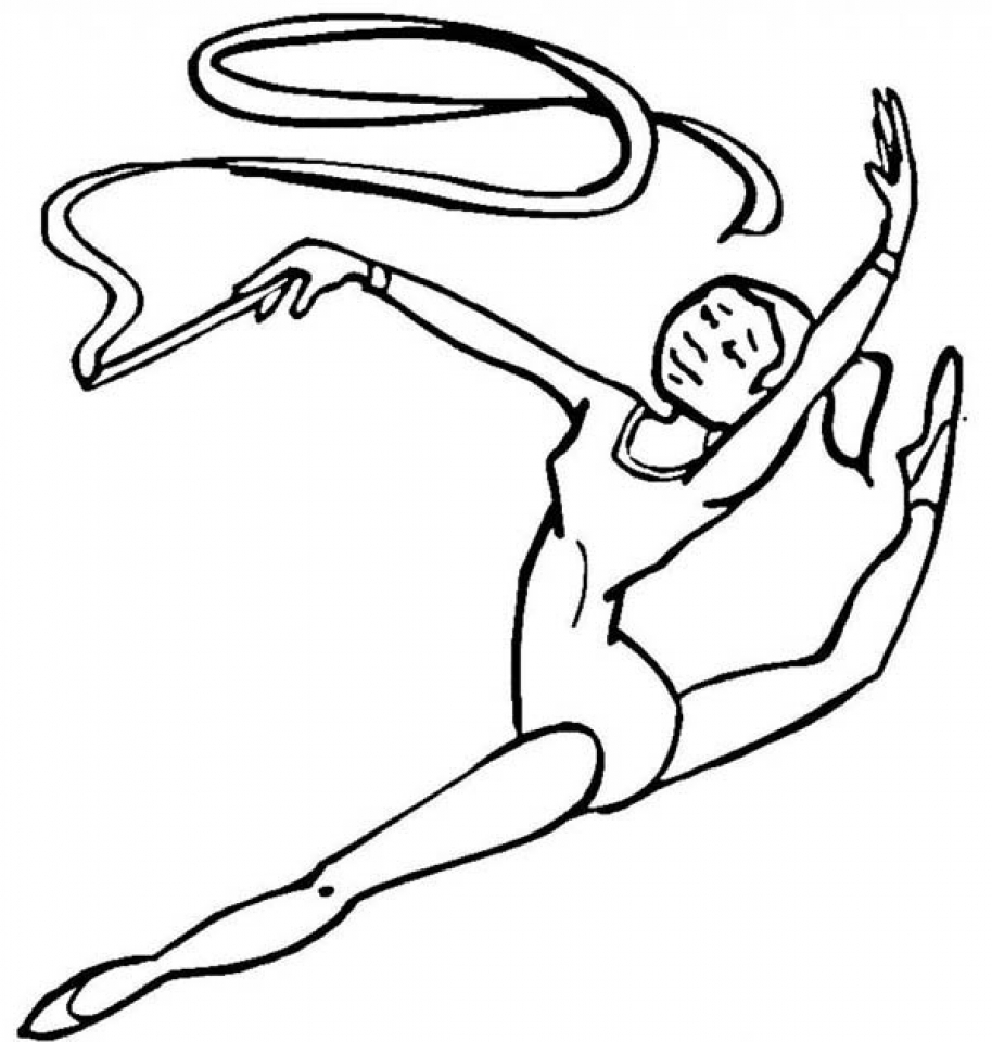 gymnastic colouring pictures olympic girl39s gymnastics coloring page woo jr kids pictures colouring gymnastic