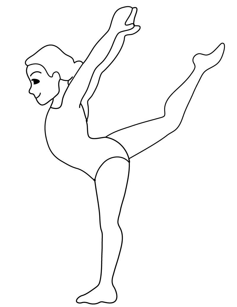 gymnastics coloring pages to print free printable gymnastics coloring pages for kids coloring to print pages gymnastics