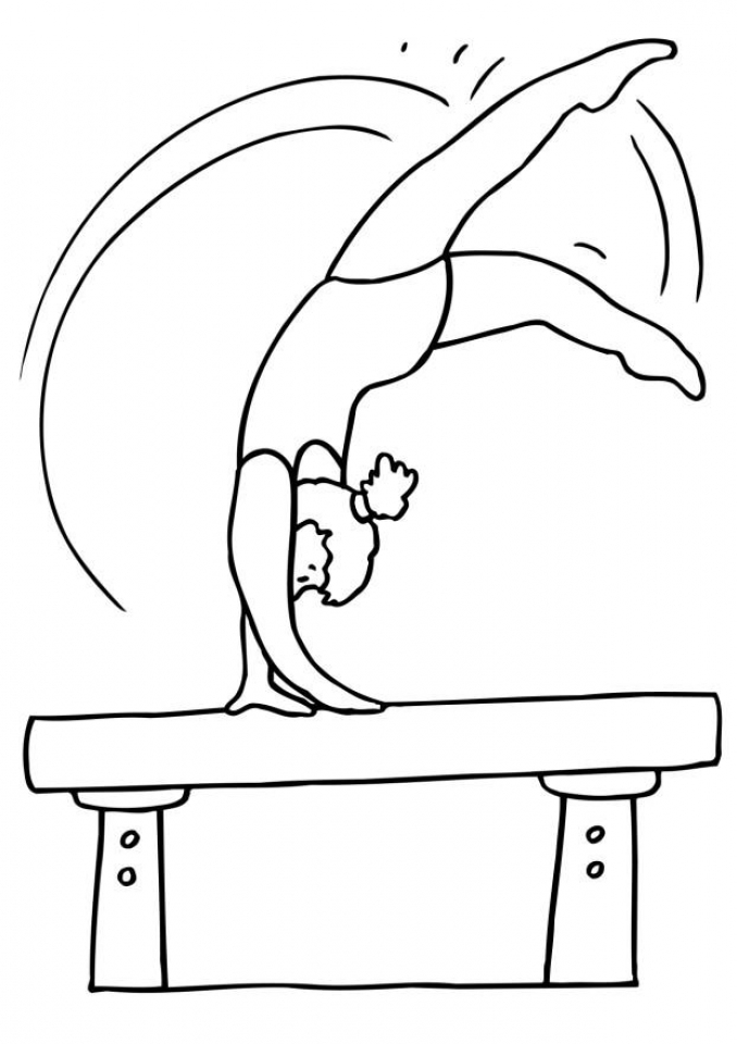 gymnastics coloring pages to print get this printable gymnastics coloring pages online vu6h13 gymnastics to print pages coloring