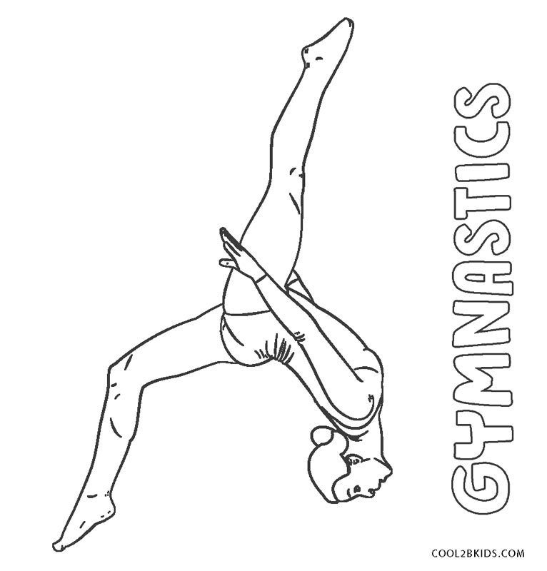 gymnastics pictures to color free printable gymnastics coloring pages for kids gymnastics pictures to color