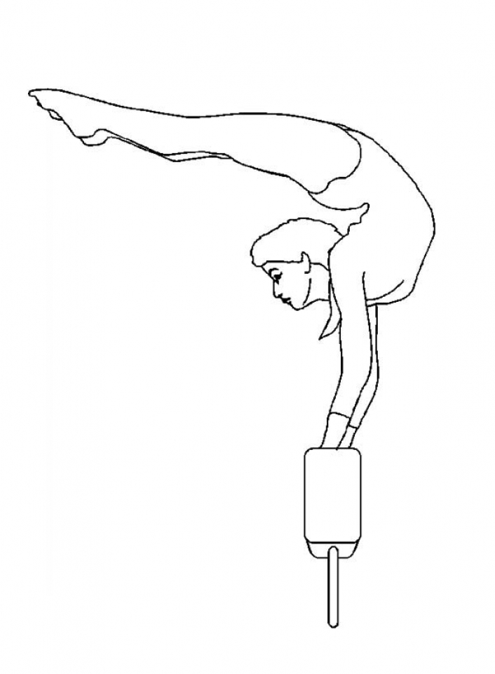 gymnastics pictures to color get this printable gymnastics coloring pages online 4auxs gymnastics to color pictures