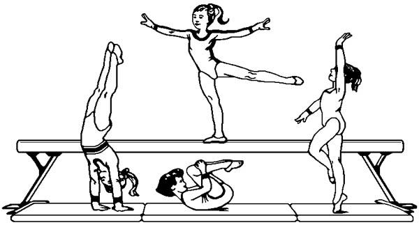 gymnastics pictures to color gymnastics coloring pages best coloring pages for kids color to pictures gymnastics