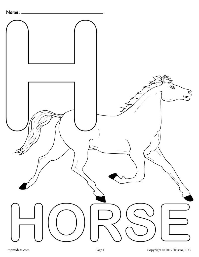 h for coloring free letter h printable coloring pages for preschool h coloring for