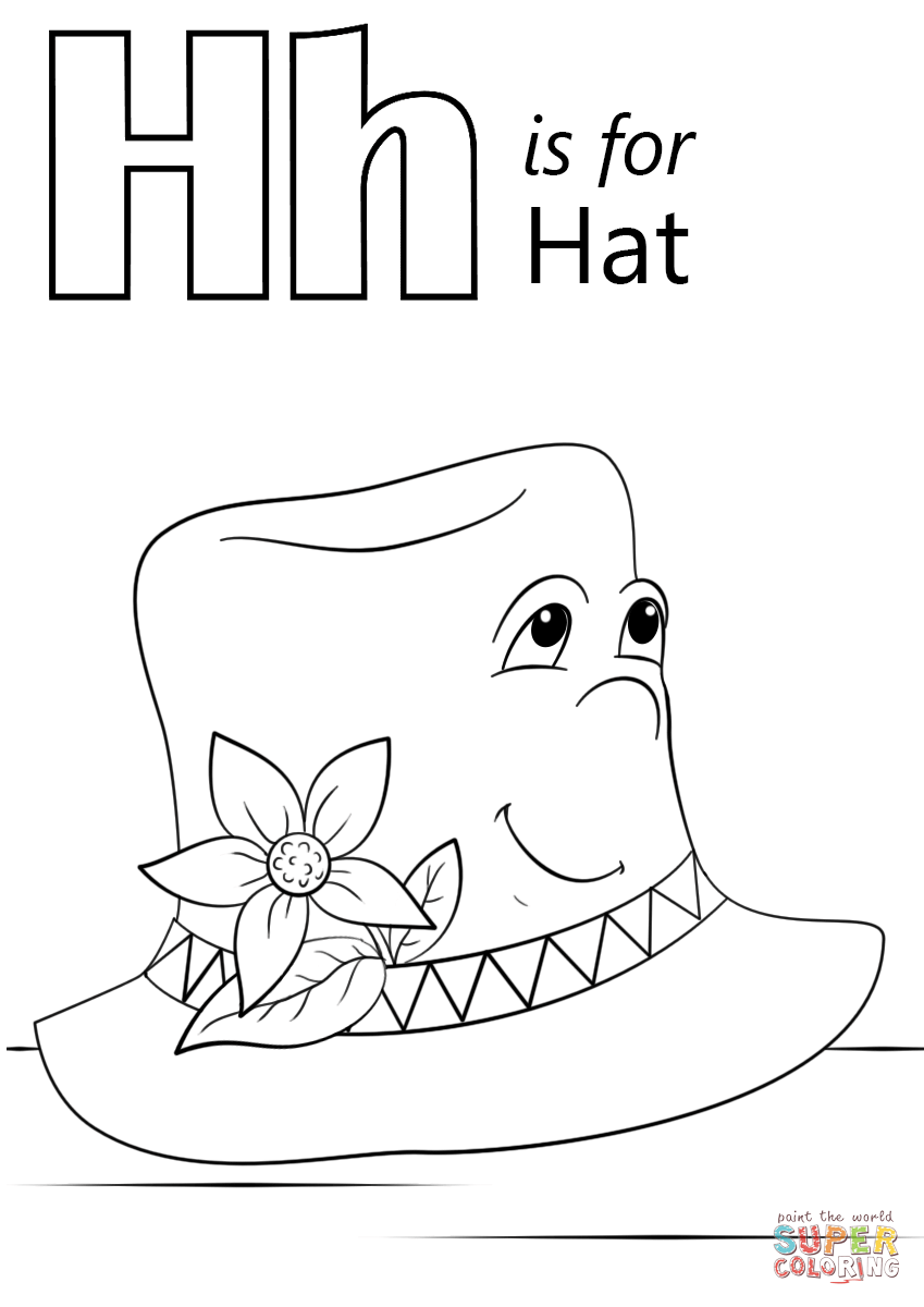 h for coloring letter h coloring pages to download and print for free coloring for h