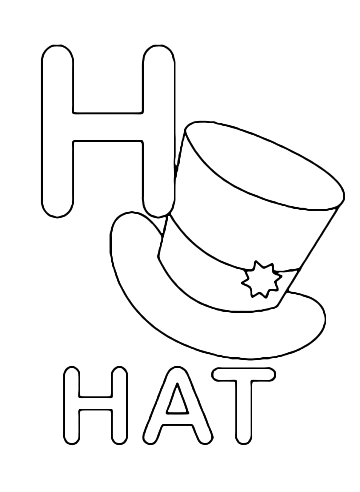 h for coloring letter h coloring pages to download and print for free coloring for h 1 1