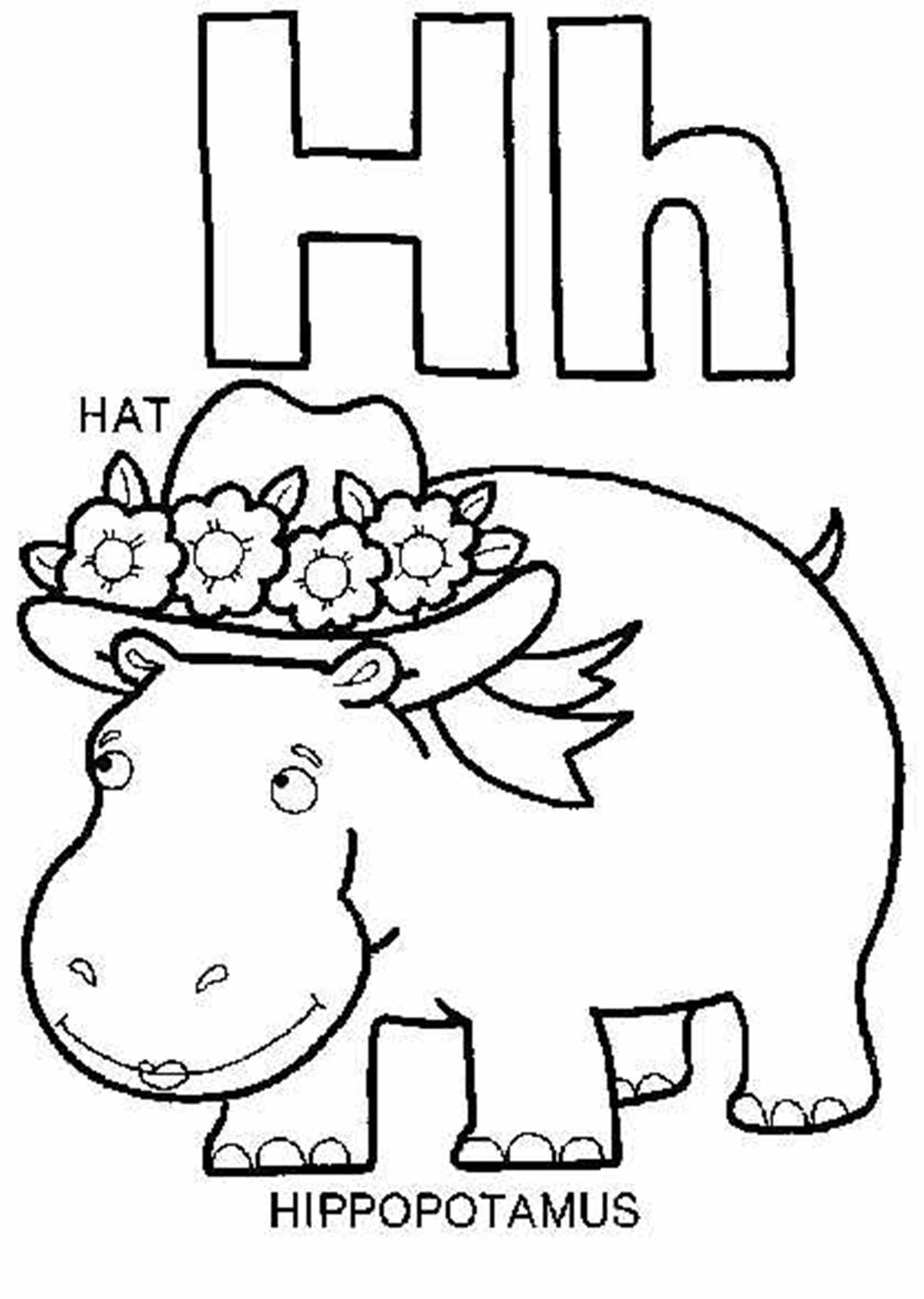 h for coloring the letter h color sheets create a printout or activity h coloring for