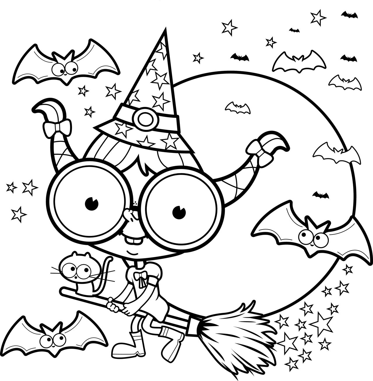 halloween color pages free printable halloween coloring pages for kids pages halloween color