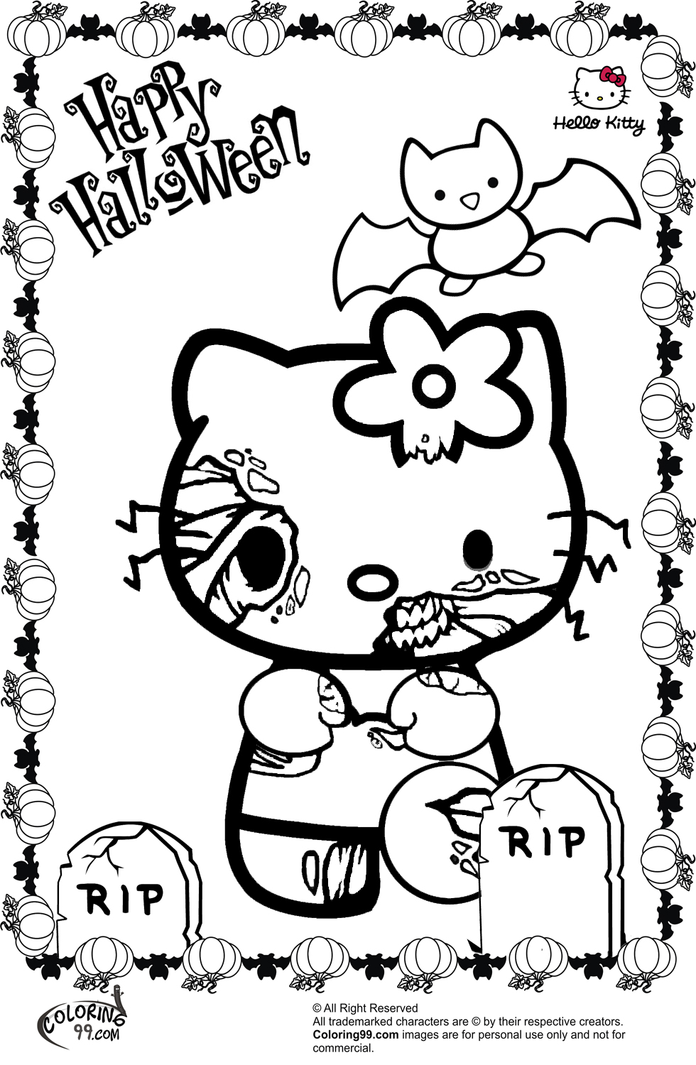 halloween color pages hello kitty halloween coloring pages minister coloring pages color halloween