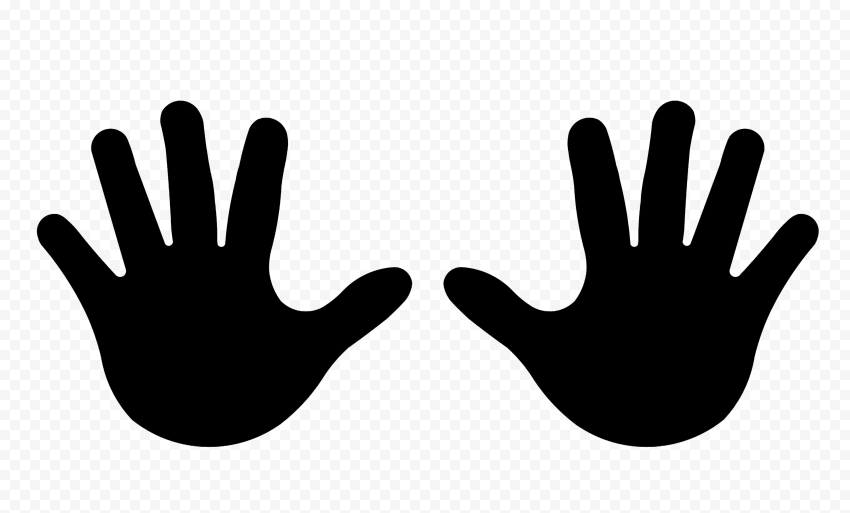 hand silhouette the best free handprint silhouette images download from hand silhouette