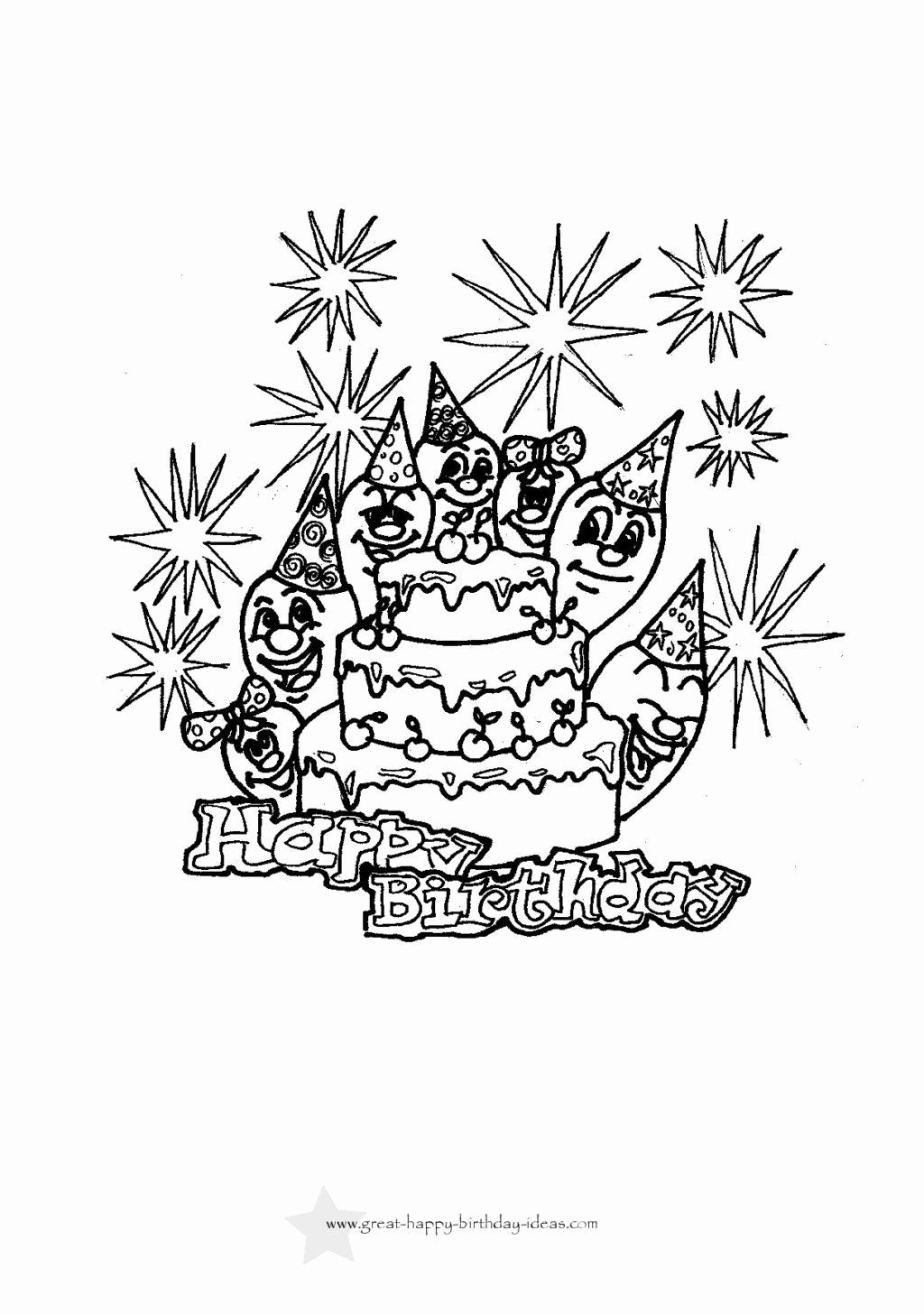 happy 30th birthday coloring pages free printable birthday cake coloring sheets for kidsfree birthday happy coloring 30th pages