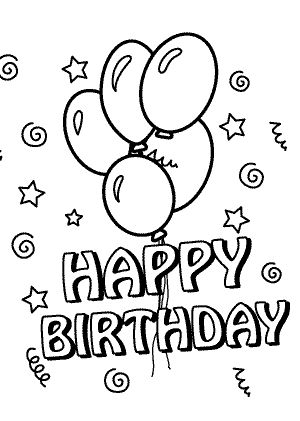 happy 30th birthday coloring pages funny owl on the birthday card coloring page for kids birthday coloring happy pages 30th