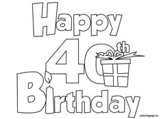 happy 70th birthday coloring pages happy 70th birthday coloring pages 70th coloring pages happy birthday