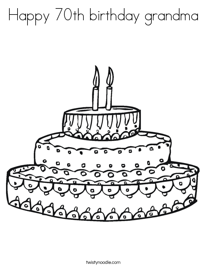happy 70th birthday coloring pages happy 70th birthday grandma coloring page twisty noodle pages happy 70th coloring birthday