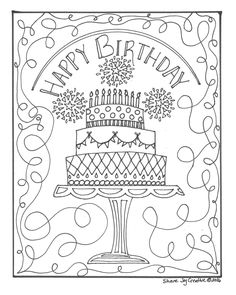 happy 70th birthday coloring pages printable happy 70th birthday coloring pages 101 birthday pages 70th coloring happy