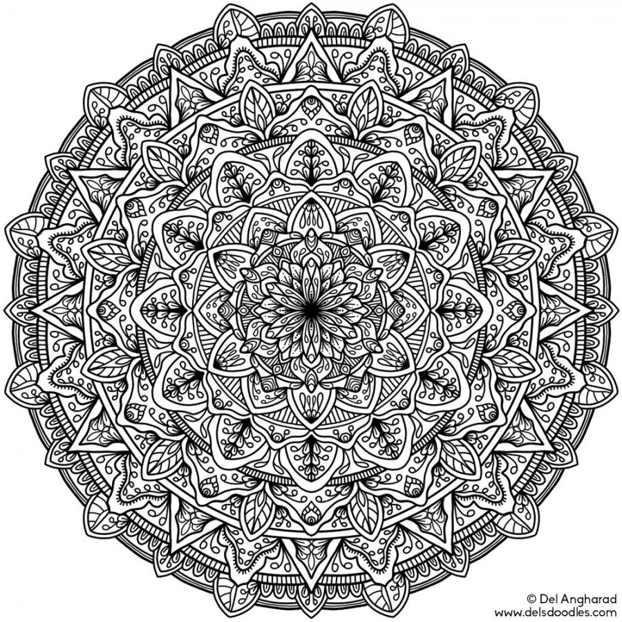 hard mandala coloring pages coloring pages difficult but fun coloring pages free and mandala coloring hard pages