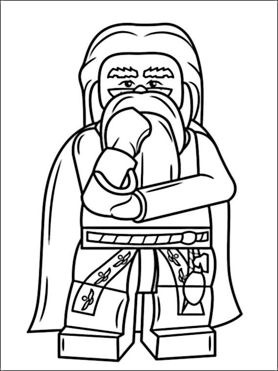 harry potter lego coloring pages lego albus dumbledore harry potter coloring pages printable harry lego potter pages coloring