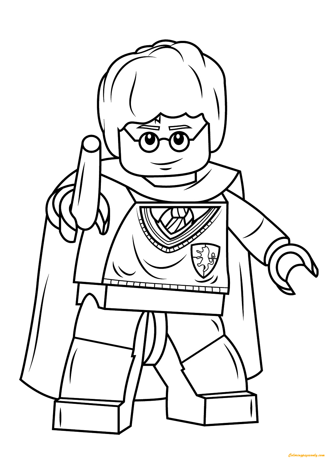 harry potter lego coloring pages lego harry potter coloring pages coloring home harry pages lego potter coloring