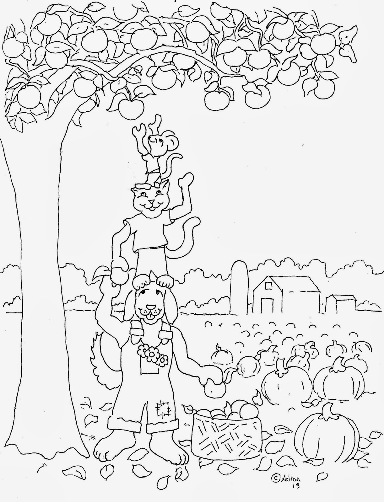 harvest coloring pictures coloring pages for kids by mr adron autumn harvest free harvest pictures coloring