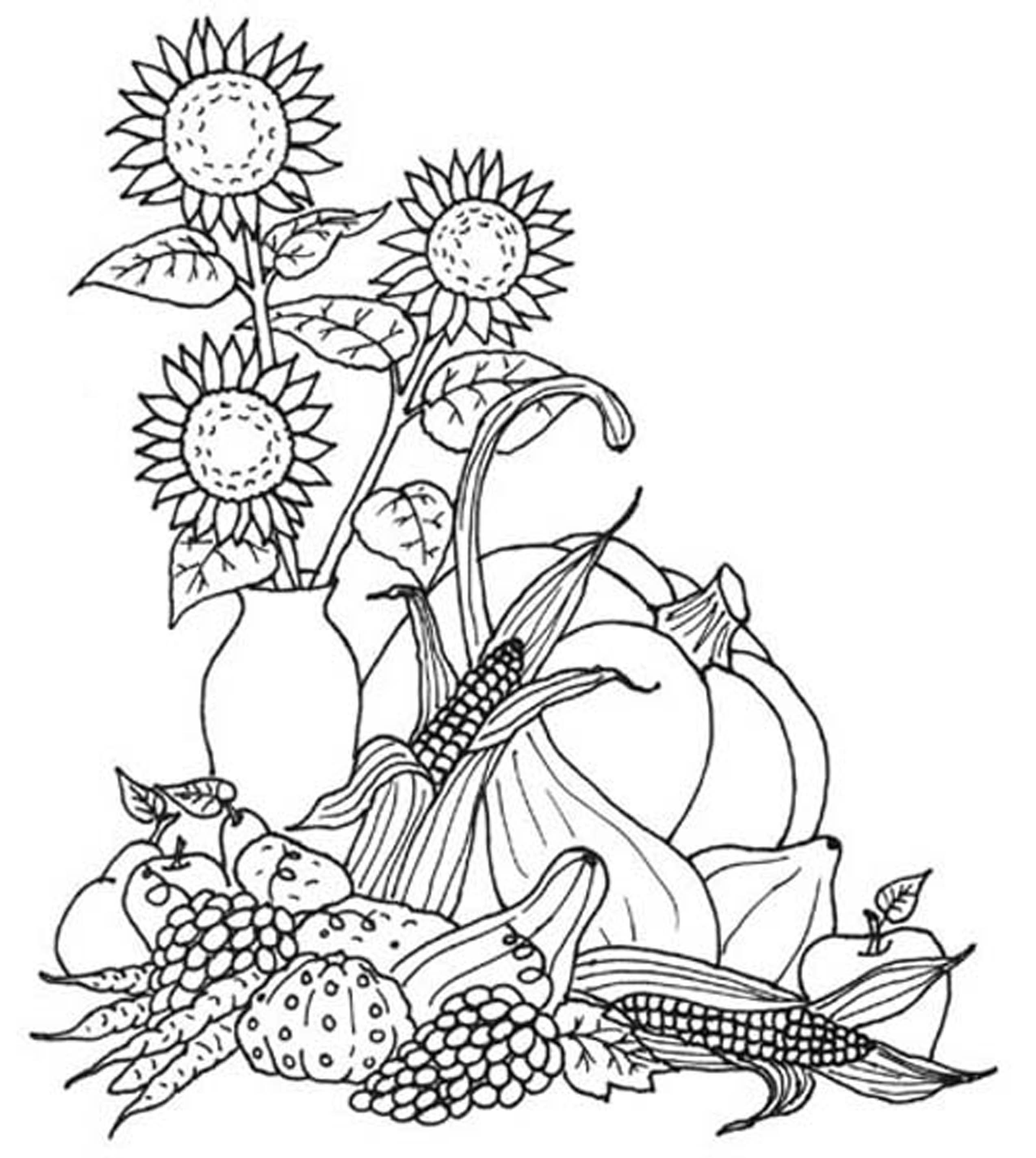 harvest coloring pictures print download fall coloring pages benefit of coloring harvest pictures