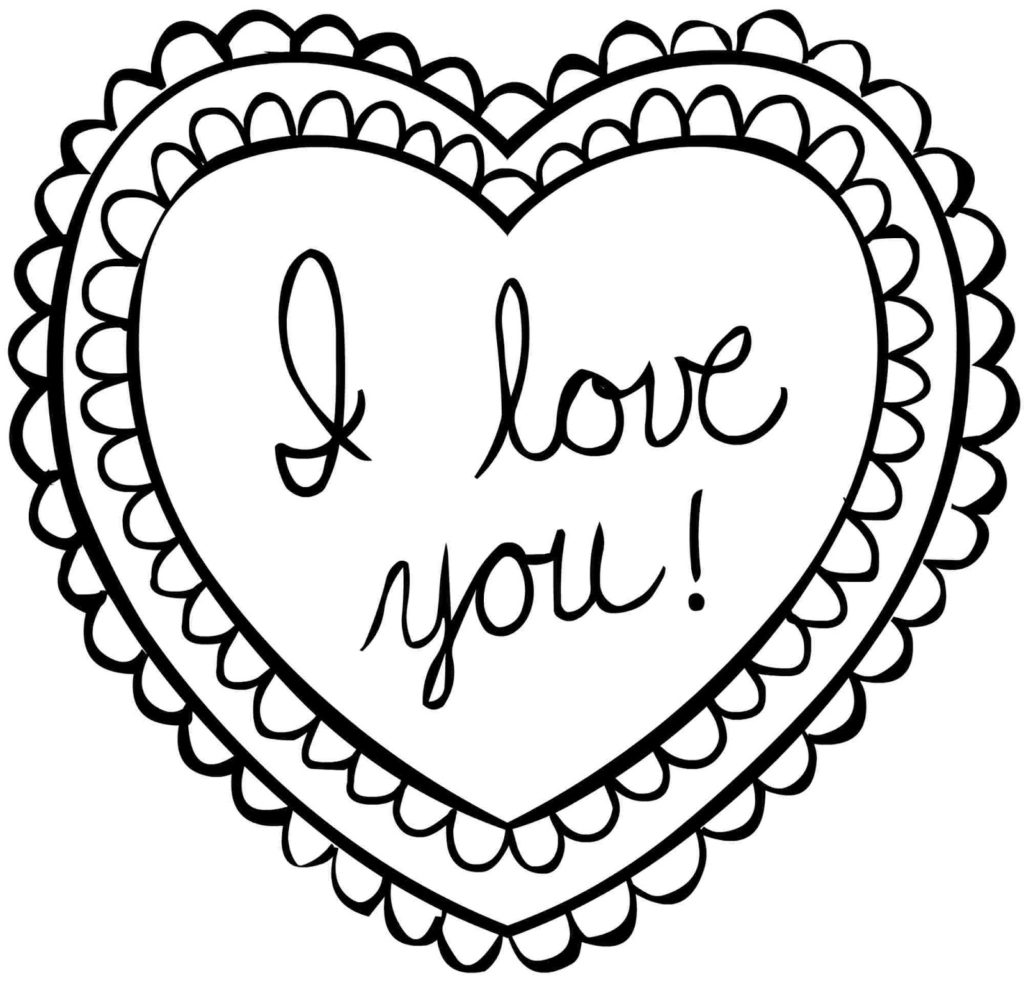 heart color page heart coloring pages download and print heart coloring pages color heart page