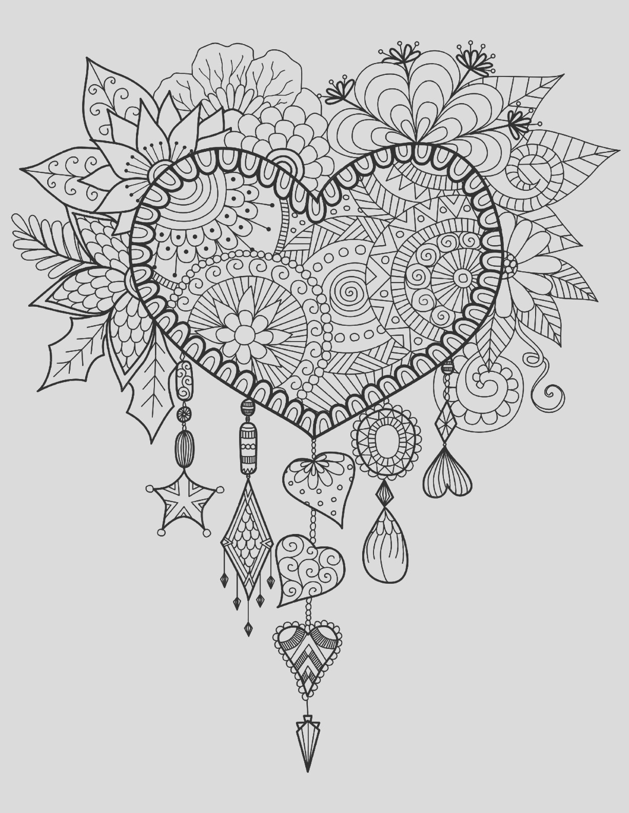 heart dream catcher coloring pages coloring pages of hearts with wings and roses with images coloring pages dream heart catcher