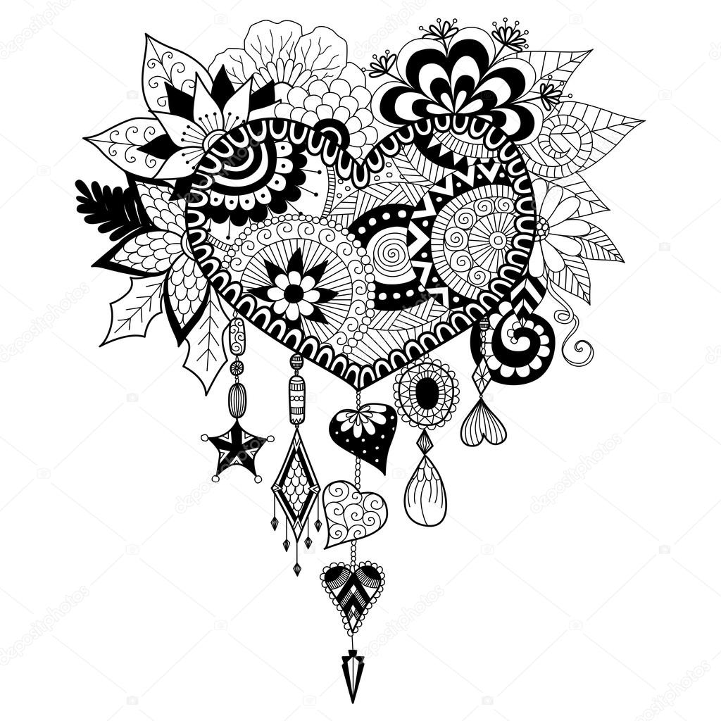 heart dream catcher coloring pages heart coloring pages rose coloring pages heart coloring coloring pages catcher heart dream