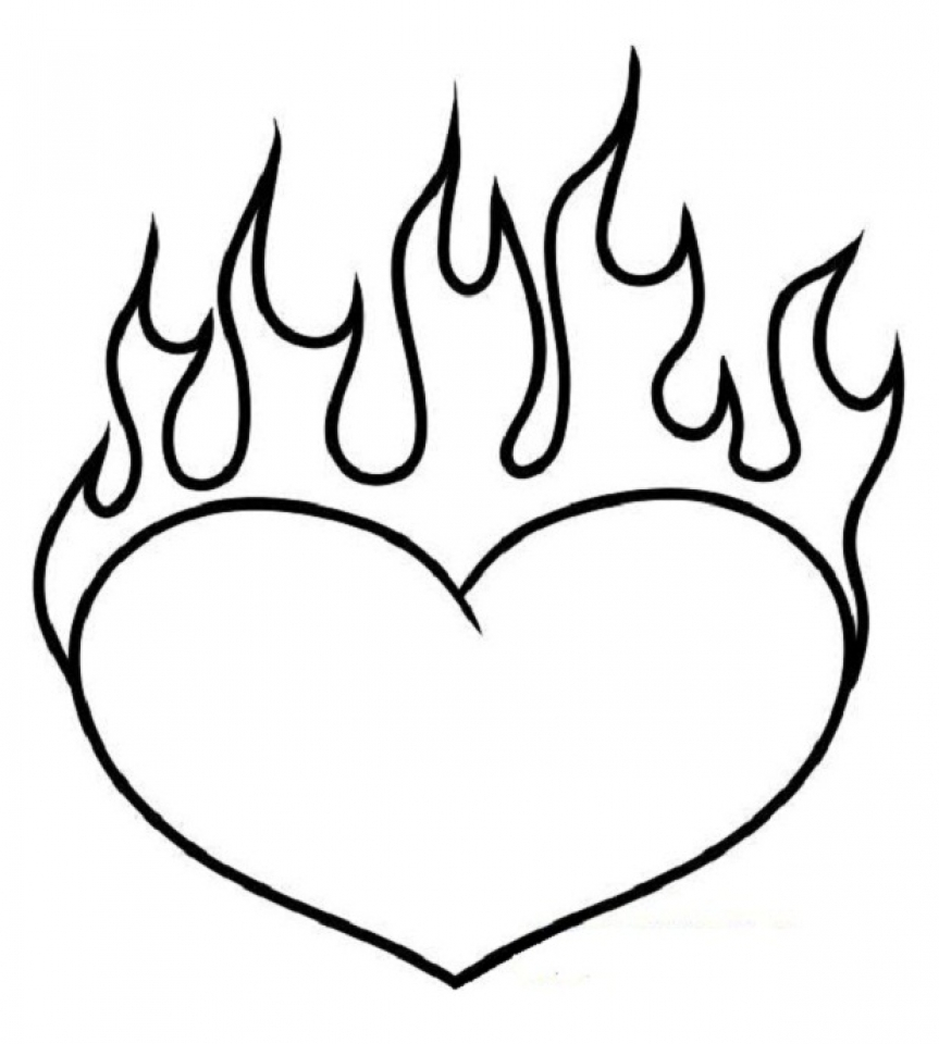 heart for coloring easy heart coloring pages for kids stripe patterns coloring for heart
