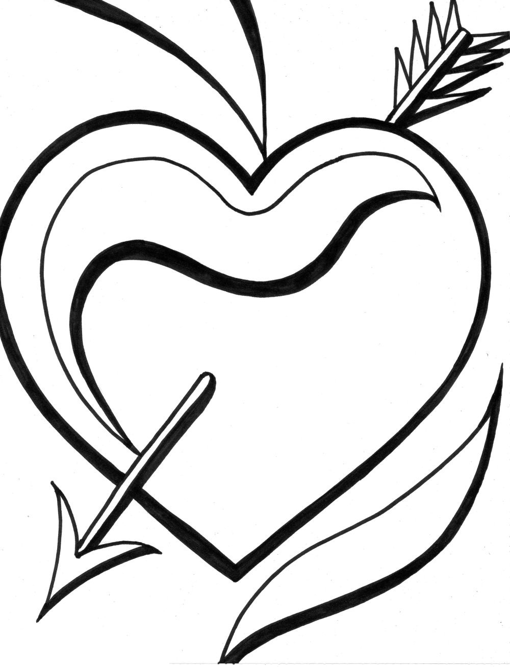 hearts coloring page free printable heart coloring page ausdruckbare coloring page hearts